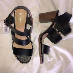 Old Navy Black Heel